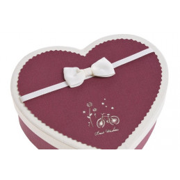 Pudełko serce 3szt/kpl