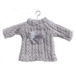 Sweterek zawieszka 18x10 cm  -  GREY