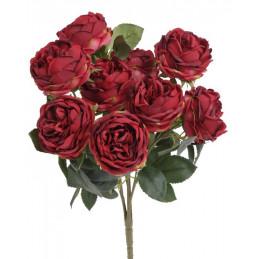 Bukiet róż 10szt, 45cm MIX KOLORÓW