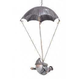 Mikołaj ze spadochronem L32-52cm
