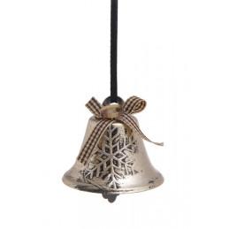 Dzwonki otwarte w tubie 4szt-kpl GOLD/SILVER