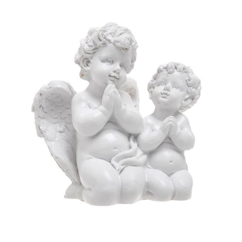 Dwa modlące się aniołki 9cm 4 sztuki/opakowanie