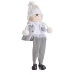 Figurka dziewczynka/chłopczyk z długimi nogami 13-22 cm