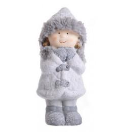 Zimowe dziecko 16,5 cm  MIX - ceramika