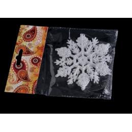 Akrylowe śnieżynki 10,5 cm 2 szt