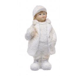 Dziecko 13cm MIX - figurka ceramiczna