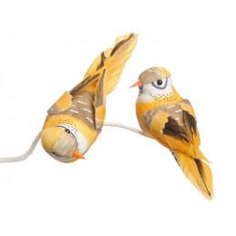 Ptaszek 10cm na klipie 6szt