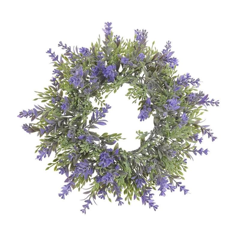 Wianek salvia 22 cm - sztuczna roślina