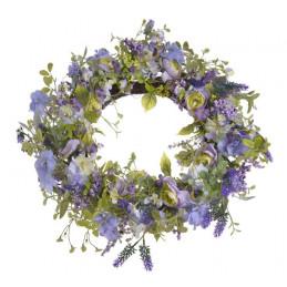 Wianek wiosenny 66 cm LAVEDER - dekoracja wiosenna