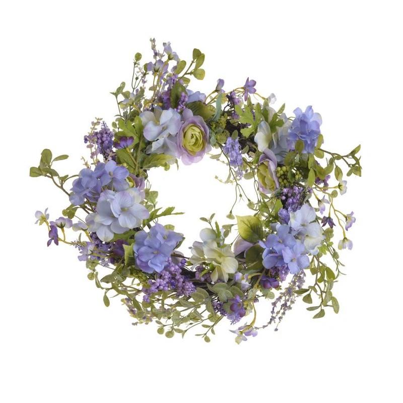 Wianek wiosenny 55 cm LIL-LAV - dekoracja wiosenna