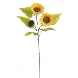 Słonecznik x3 95 cm- sztuczny kwiat