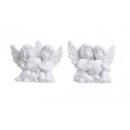 Aniołki z sercem 6 x 4,5 cm MIX 2 sztuki/kpl