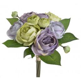 Ranunculus bukiet 6+3+2 25 cm