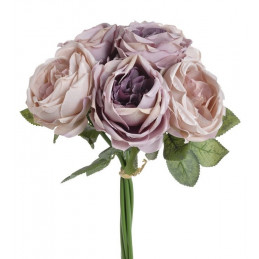 Bukiet róż x6 28 cm