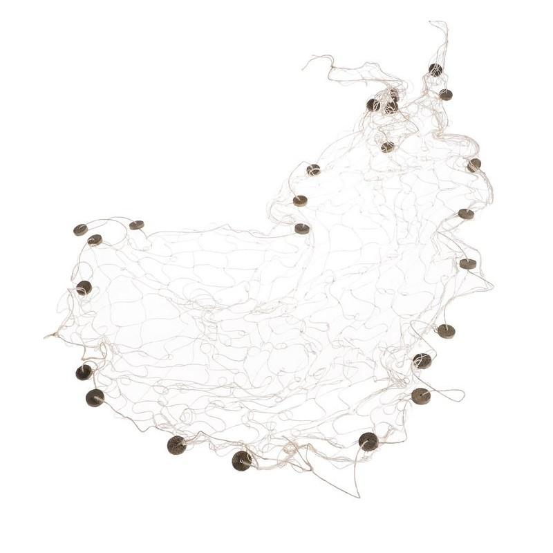 Dekoracyjna sieć rybacka 100 x 200 cm