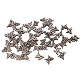 Drewienka motylki 3-6,5 cm