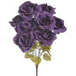 Bukiet róż x 9, 46 cm