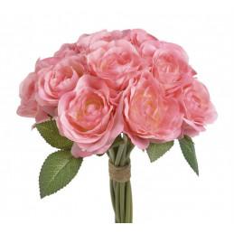 Bukiet 12 róż, 25 cm - sztuczna roślina
