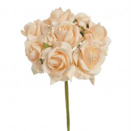 Róża piankowa średnia B x 8, 25 cm