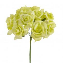 Róża piankowa mała A x 12, 22 cm