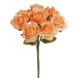 Różyczki piankowe 8szt/bukiet H24 cm