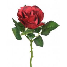 Róża Columbia z krótką łodygą 29 cm - sztuczna roślina