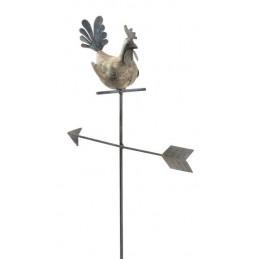 Pik kogut ze strzałą - dekoracja ogrodowa