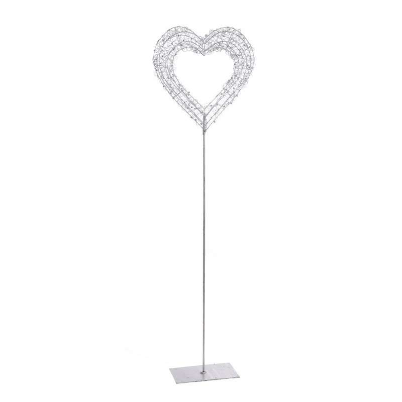 Serce na stojaku_135 cm - element dekoracyjny