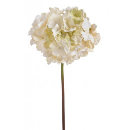 Hortensja na łodydze x1, 60 cm - sztuczny kwiat