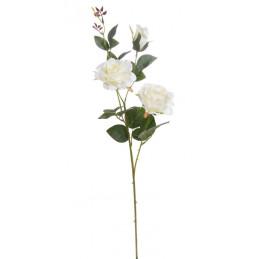 Róża x3, 77 cm - sztuczny kwiat