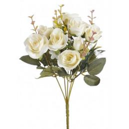 Bukiet z różą 30 cm - sztuczna roślina