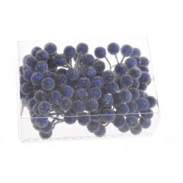 Kuleczki w cukrze na druciku, paczka/6peczków x 24sztuki, 1,3 - 9 cm - dodatek do stroików