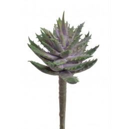 Sukulent x1, 16 cm  - sztuczna roślina