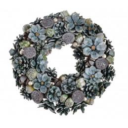 Wianek szyszki 34 cm GREEN - artykuł dekoracyjny
