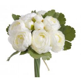 Ranunculus bukiet 7+3, 25 cm - sztuczna roślina