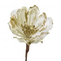 Baby magnolia główka-organza + brokat 8-14 cm