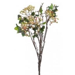 Gałązka z kuleczkami x4 -sztuczna roślina 55 cm