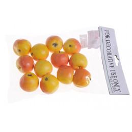Jabłko średnie 12 szt/paczka 4,5 cm - sztuczny owoc