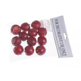 Jabłko średnie 12 szt/paczka 3,5 cm - sztuczny owoc