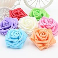 Kwiaty wykonane z pianki: róże, kalie itp.