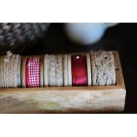 Tekstylia do kuchni, woreczki na pieczywo, wstążki, koronki, poszewki
