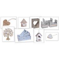 Drewniane skrzynki, wiaderka, donice, zawieszki, wyroby z drewna - MojeDekoRacje.eu